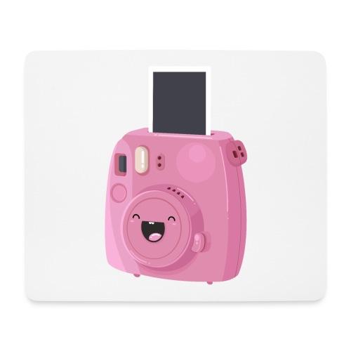 Appareil photo instantané rose - Tapis de souris (format paysage)