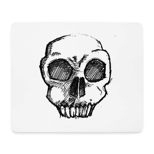 Skull sketch - Mouse Pad (horizontal)