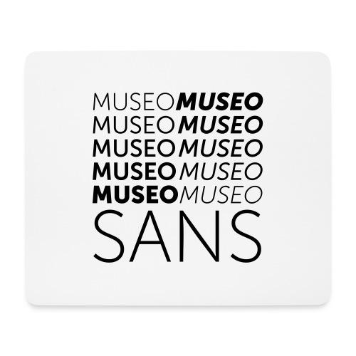 museo sans - Mouse Pad (horizontal)