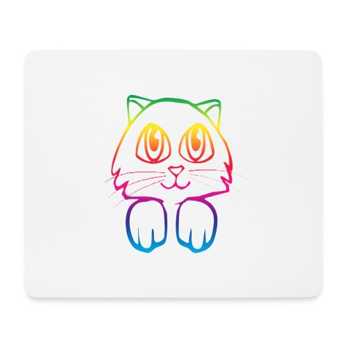 rainbow_pussy - Mouse Pad (horizontal)