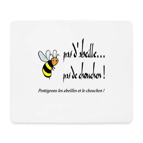Pas d'abeille, pas de chouchen - Tapis de souris (format paysage)
