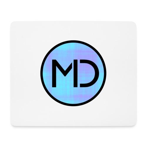 MD Blue Fibre Trans - Mouse Pad (horizontal)
