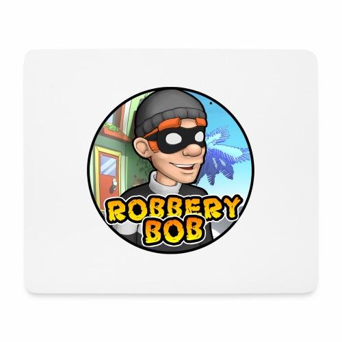 Robbery Bob Button - Mouse Pad (horizontal)