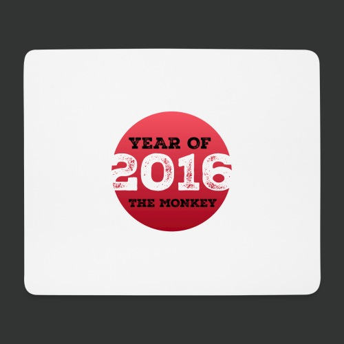 2016 year of the monkey - Mouse Pad (horizontal)