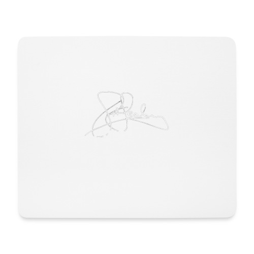 sasealey design logo wht png - Mouse Pad (horizontal)