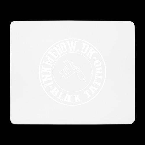 logo hvid png - Mousepad (bredformat)