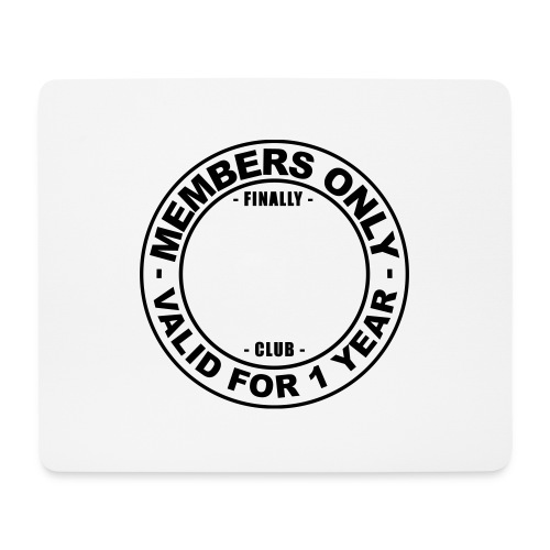 Finally XX club (template) - Mouse Pad (horizontal)