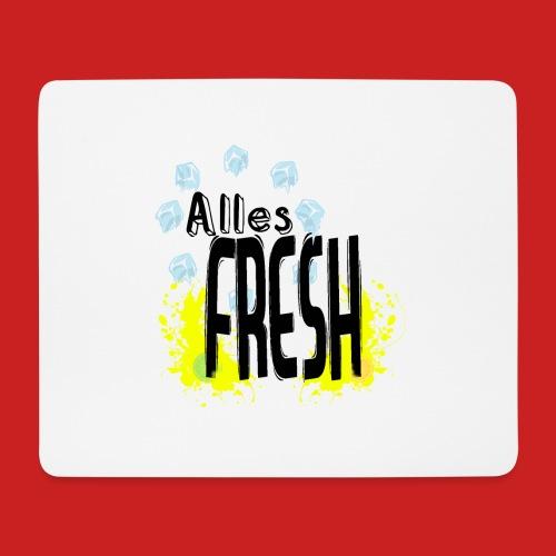 Alles Fresh / Frisch Sommer Eis - Mousepad (Querformat)