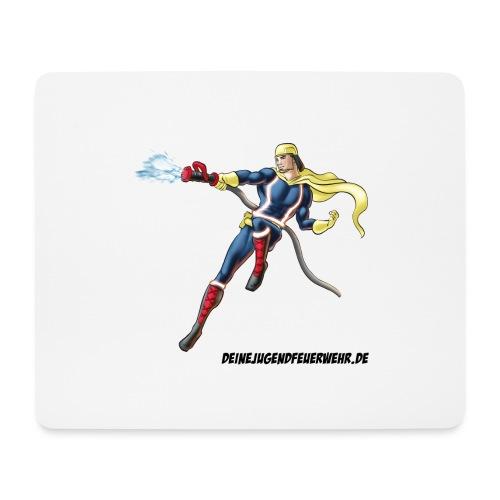 Captain Firefighter - Mousepad (Querformat)