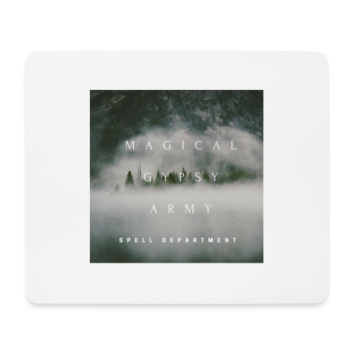 MAGICAL GYPSY ARMY SPELL - Mouse Pad (horizontal)