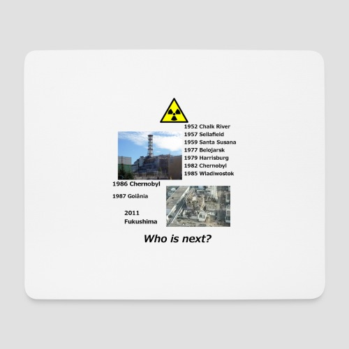 no nuclear button Who is next? - Mouse Pad (horizontal)