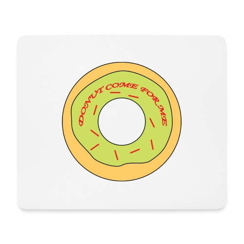 Donut Come For Me Red - Mouse Pad (horizontal)