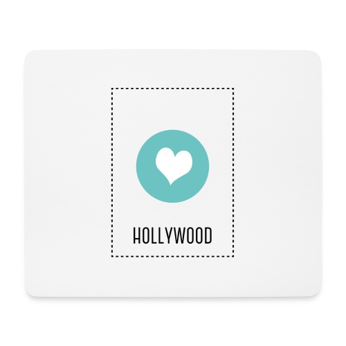 I Love Hollywood - Mousepad (Querformat)