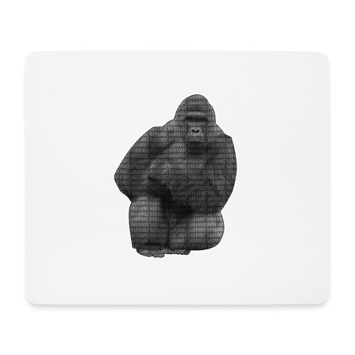 harambe 2k png - Mousepad (bredformat)