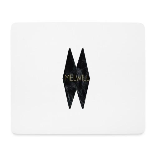 MELWILL black - Mouse Pad (horizontal)