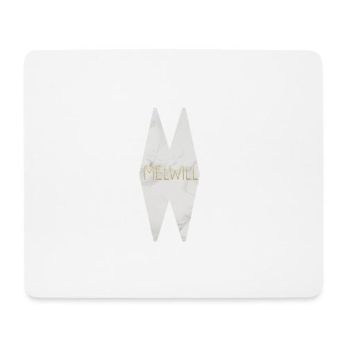 MELWILL white - Mouse Pad (horizontal)
