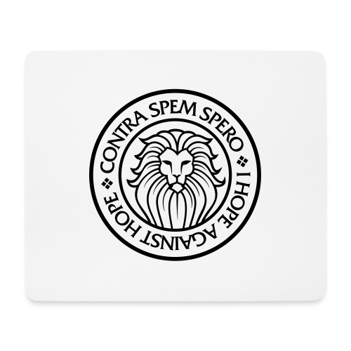Contra Spem Spero - Mouse Pad (horizontal)
