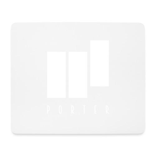 PORTER Sign White - Mousepad (Querformat)