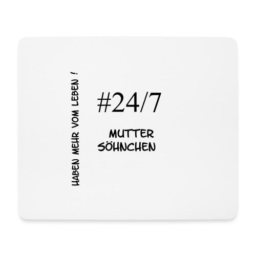 Muttersöhnchen - Mousepad (Querformat)