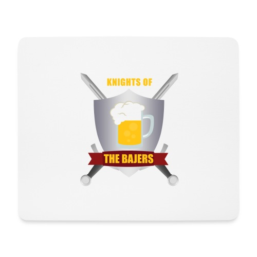 Knights of The Bajers - Mousepad (bredformat)