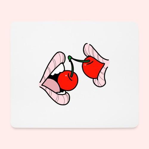 Cherry lips - Mousepad (Querformat)