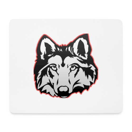 Wolfie (Red) - Mouse Pad (horizontal)