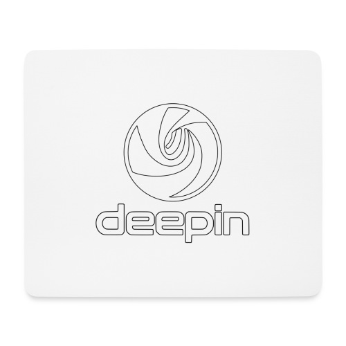 deepinlogotrasparente - Tappetino per mouse (orizzontale)