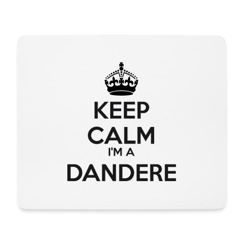 Dandere keep calm - Mouse Pad (horizontal)