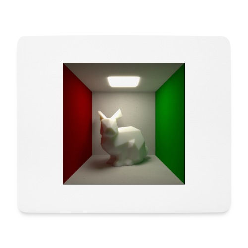 Bunny in a Box - Mouse Pad (horizontal)