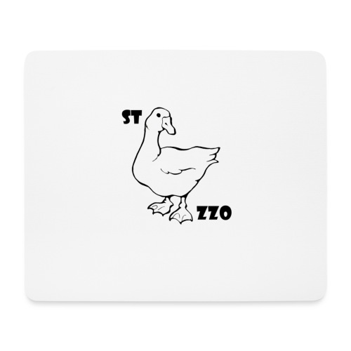 REBUS...STOCAZZO - Tappetino per mouse (orizzontale)