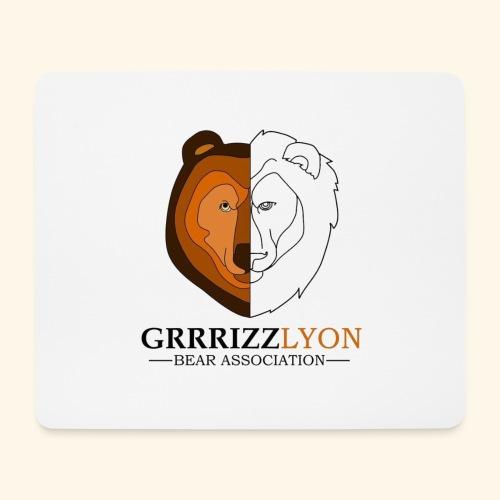 Grrrizzlyon - Tapis de souris (format paysage)