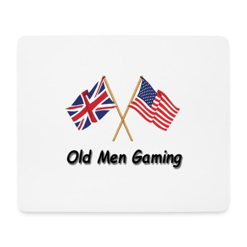 OMG logo - Mouse Pad (horizontal)