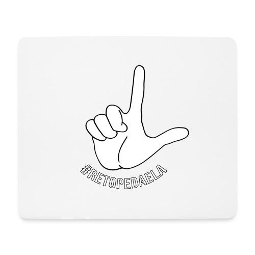 Dedo Big - #RetoPedaEla - Alfombrilla de ratón (horizontal)