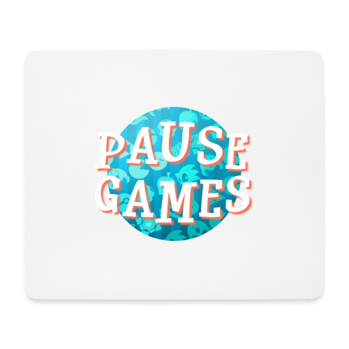 Pause Games New Version - Mouse Pad (horizontal)