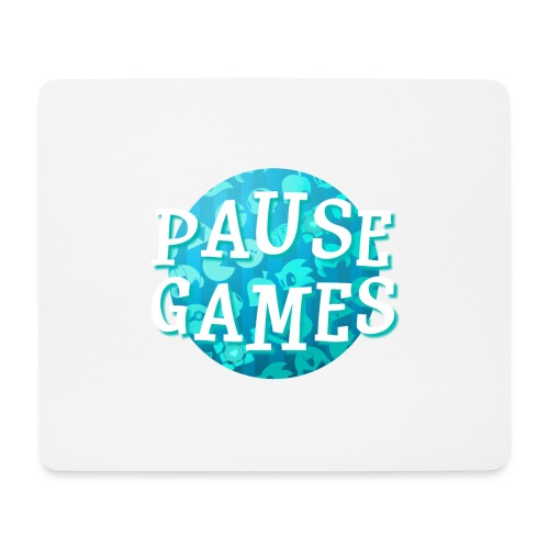 Pause Games New Design Blue - Mouse Pad (horizontal)