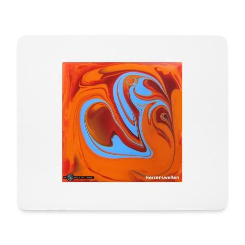 TIAN GREEN Mosaik DK005 - Herzenswelten - Mousepad (Querformat)
