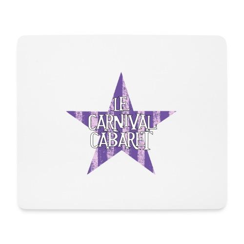 bonnet LCC noir etoie violette - Mouse Pad (horizontal)