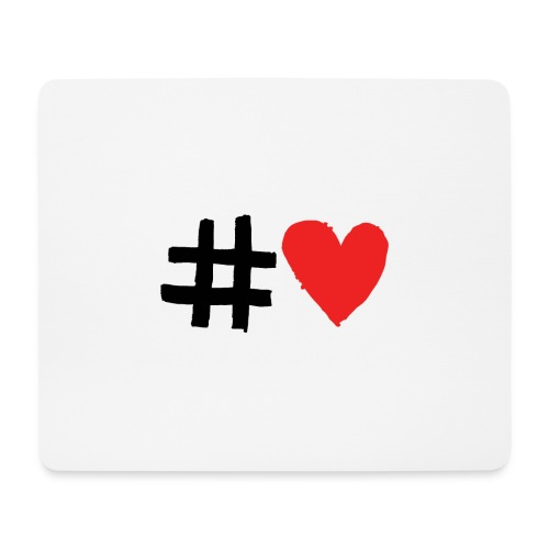 #Love - Mousepad (bredformat)
