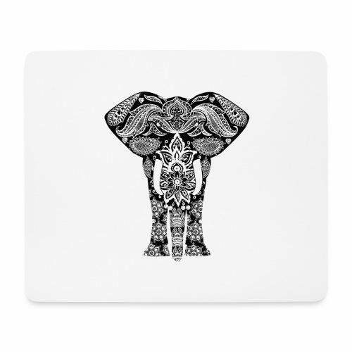 Ażurowy słoń - Podkładka pod myszkę (orientacja pozioma)