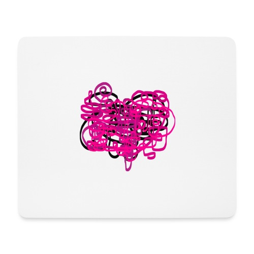 delicious pink - Mouse Pad (horizontal)