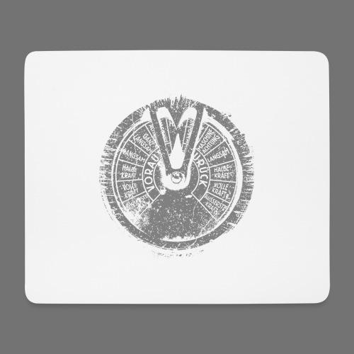 Maschinentelegraph (harmaa oldstyle) - Hiirimatto (vaakamalli)