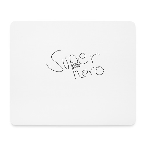 SUPERHERO - Mousepad (Querformat)