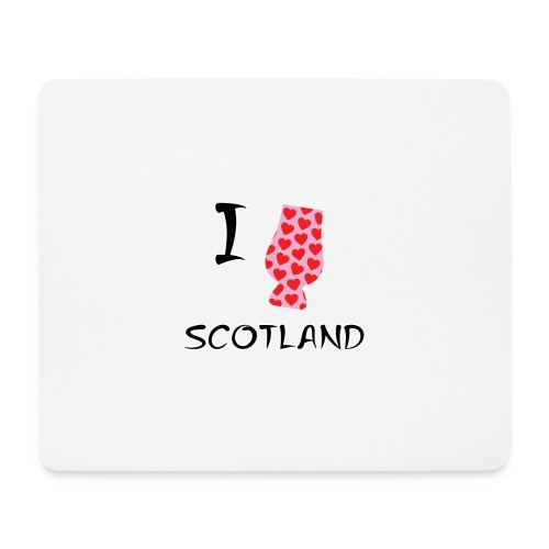 I Love Scotland - Glencairn - Mouse Pad (horizontal)