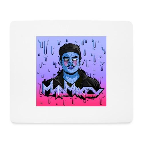 MadMikey Grime Art Blue Bastard - Muismatje (landscape)