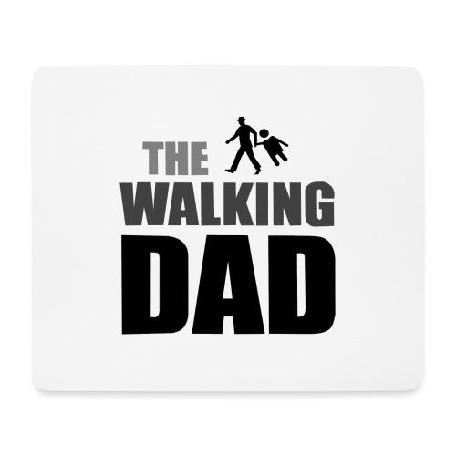the walking dad auf dem Weg in die lustige Bar - Mousepad (Querformat)