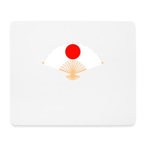 Eventail japonais - Tapis de souris (format paysage)