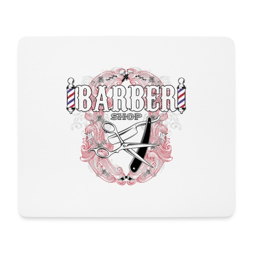 Barber Shop_03 - Tappetino per mouse (orizzontale)