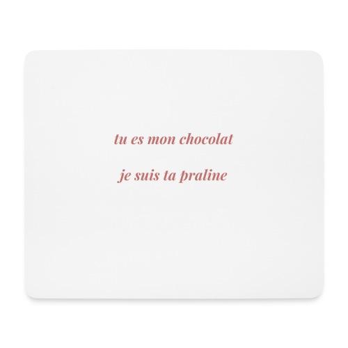 Tu es mon chocolat clair - Tapis de souris (format paysage)