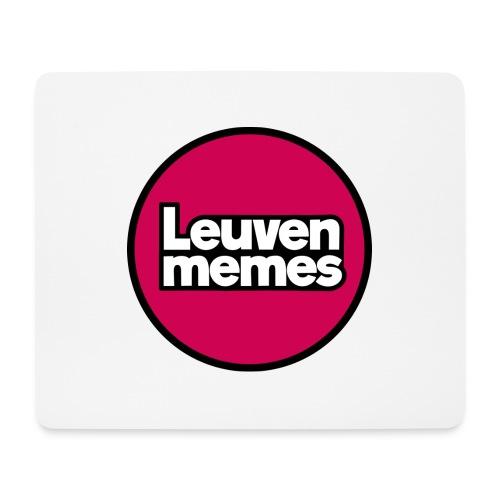 Logo LeuvenMemes - Tapis de souris (format paysage)