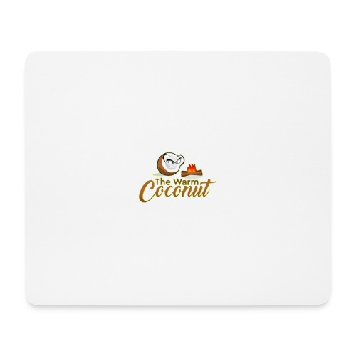 The warm coconut campfire - Mouse Pad (horizontal)